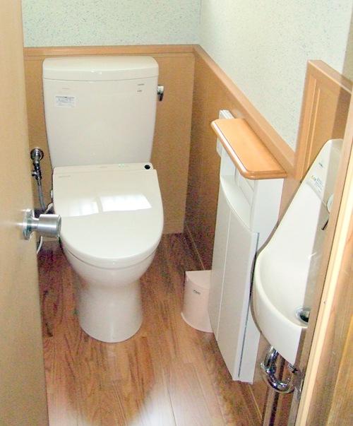 浜松市南区、28年目のトイレと内装リフォーム