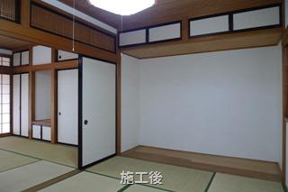 磐田市上万能で築25年の中古住宅リフォーム - 和室&収納