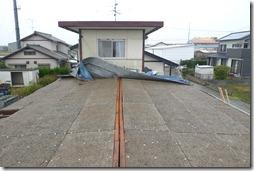 浜松市南区で屋根がまるごと飛んだ台風被害の修復リフォーム