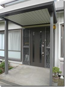 浜松市西区で玄関ドアの取替え交換リフォーム