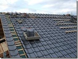 浜松市南区で外断熱工法の大規模増改築 ー 屋根・金物工事
