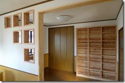 家と一体化する注文家具、オーダーメイド壁面収納