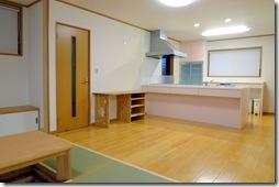 浜松市南区で外断熱工法の大規模増改築 ー LDKとホール完成