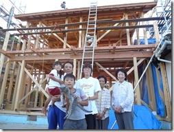 浜松市南区で外断熱工法の大規模増改築 ー 上棟