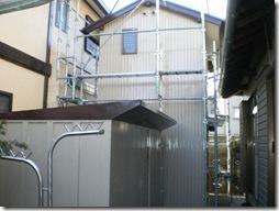 浜松市中区で小屋と離れの安全点検と外装塗装工事